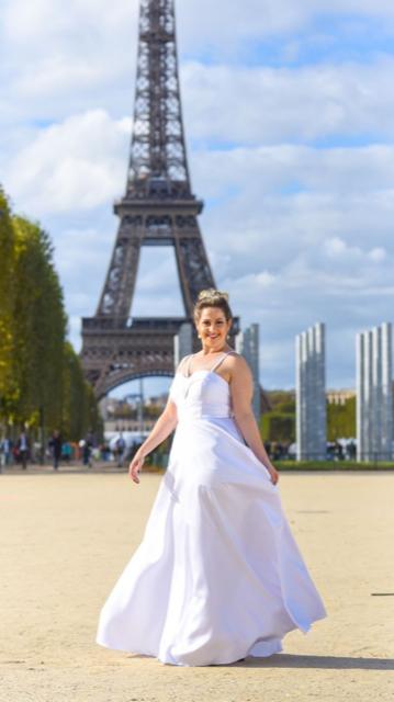 5 - Vestido de noiva clean plus size