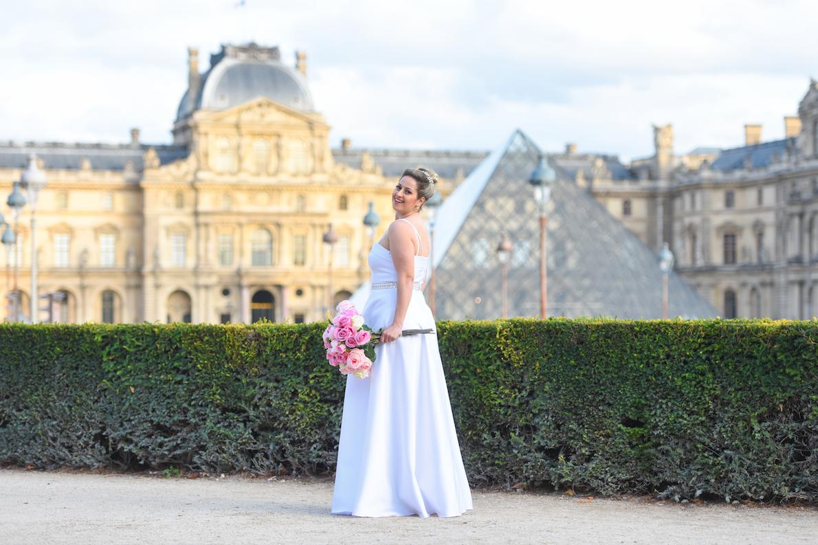 37 - Vestido de noiva clean