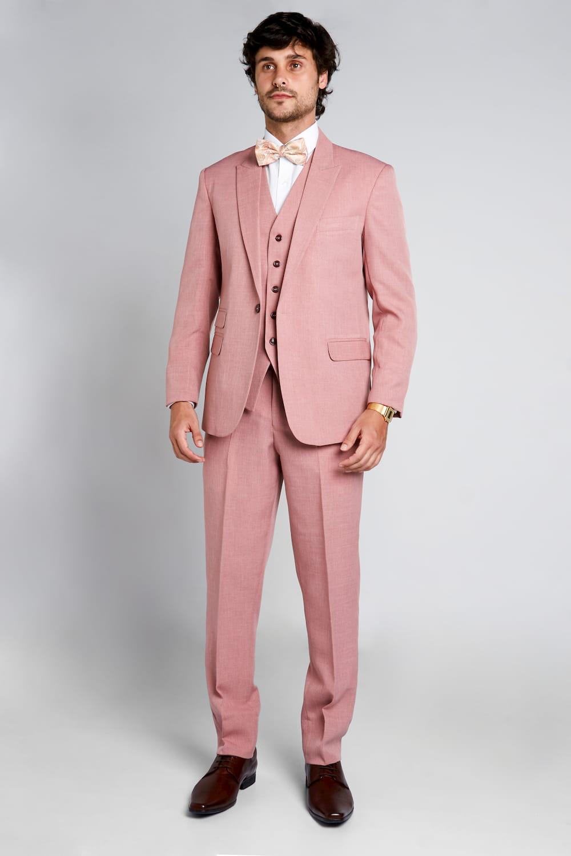 11 - Terno rosê slim