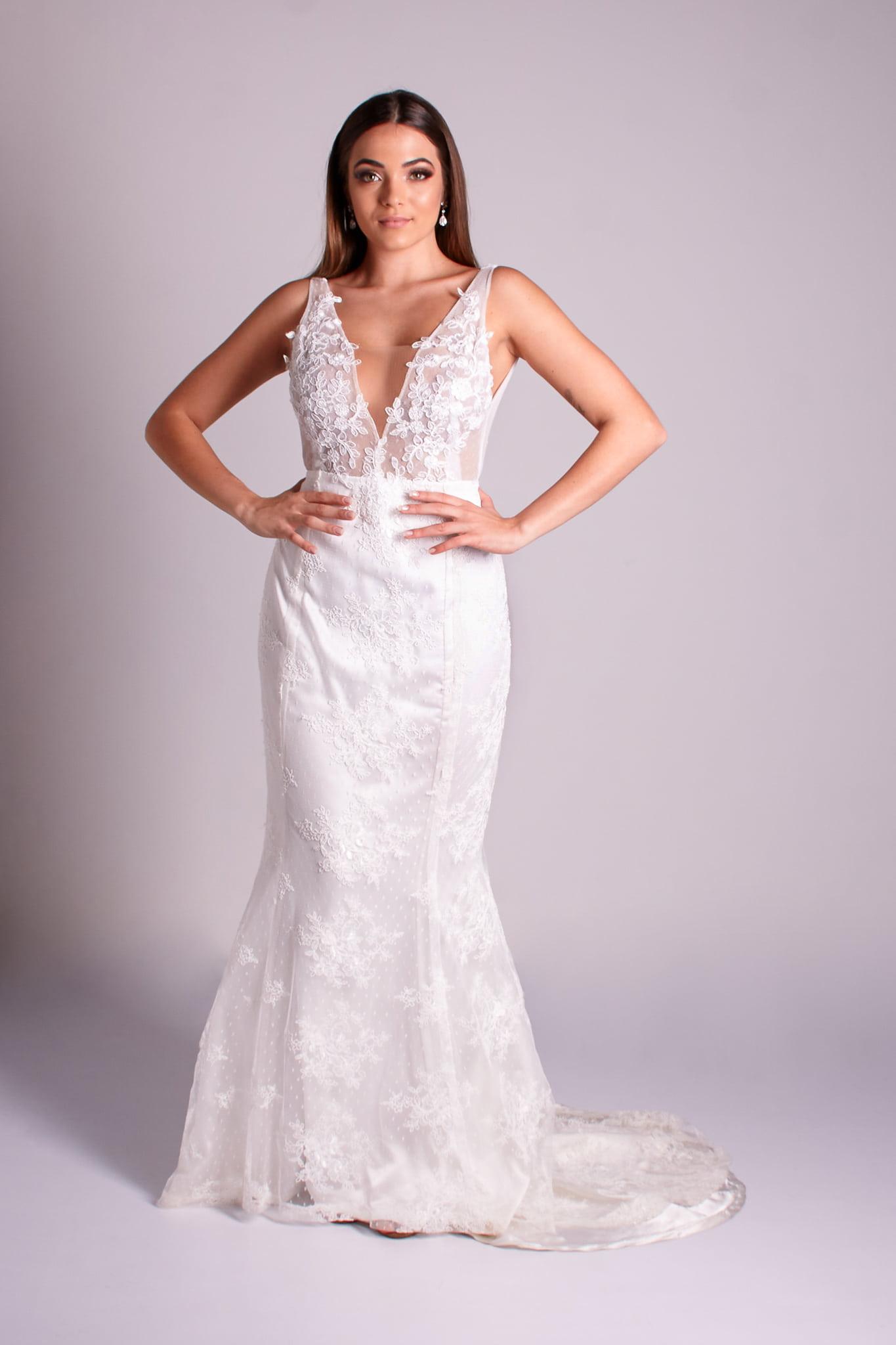 4 - vestido de renda branco estilo boho